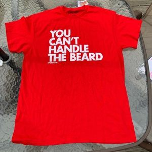 Dpcted T-shirt size L you cant handle the beard